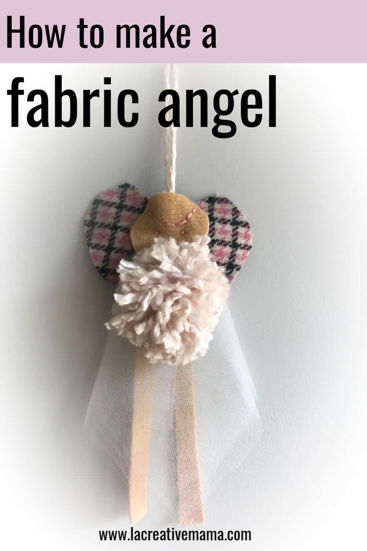 how to make a fabric angel