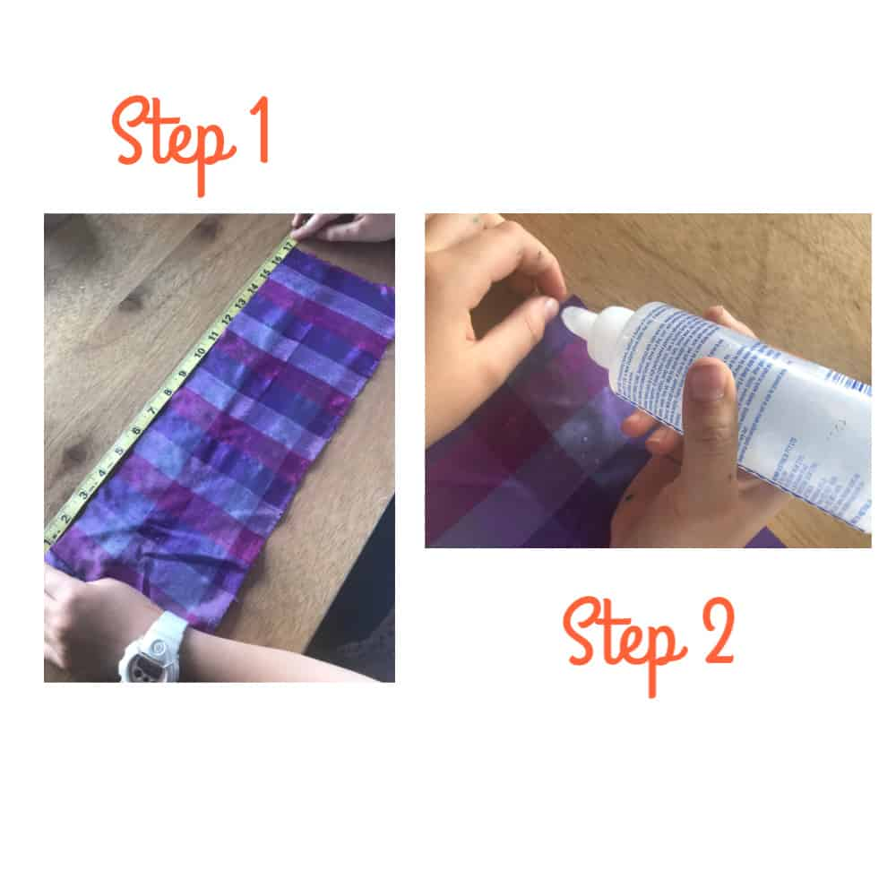 DIY Scrunchie no sew 1