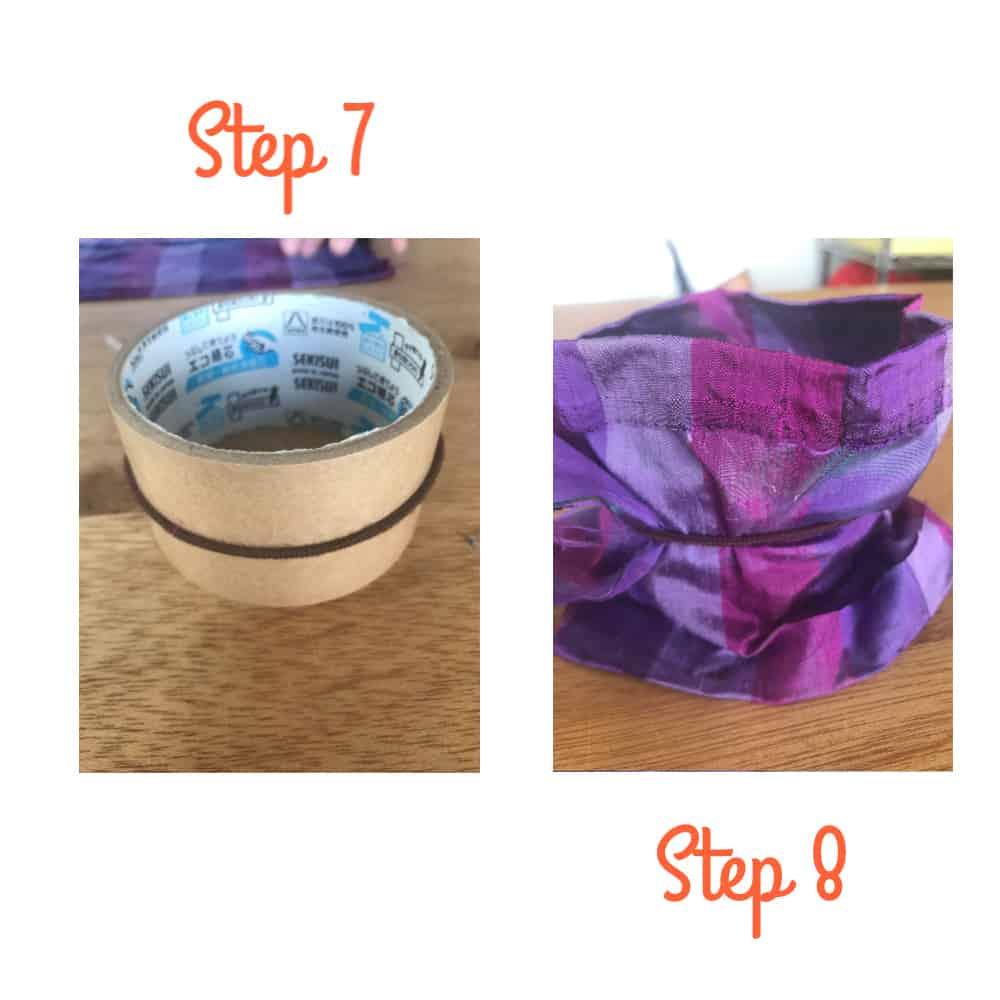 diy scrunchie for kids