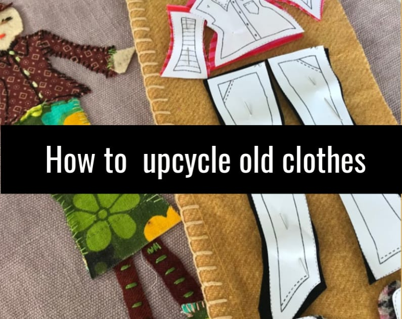upcycle old clothes