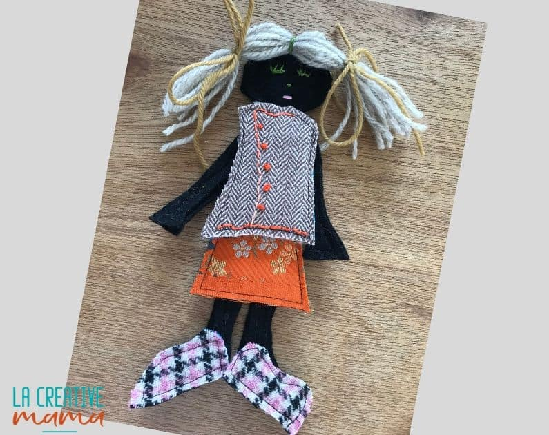 flat felt doll tutorial 18