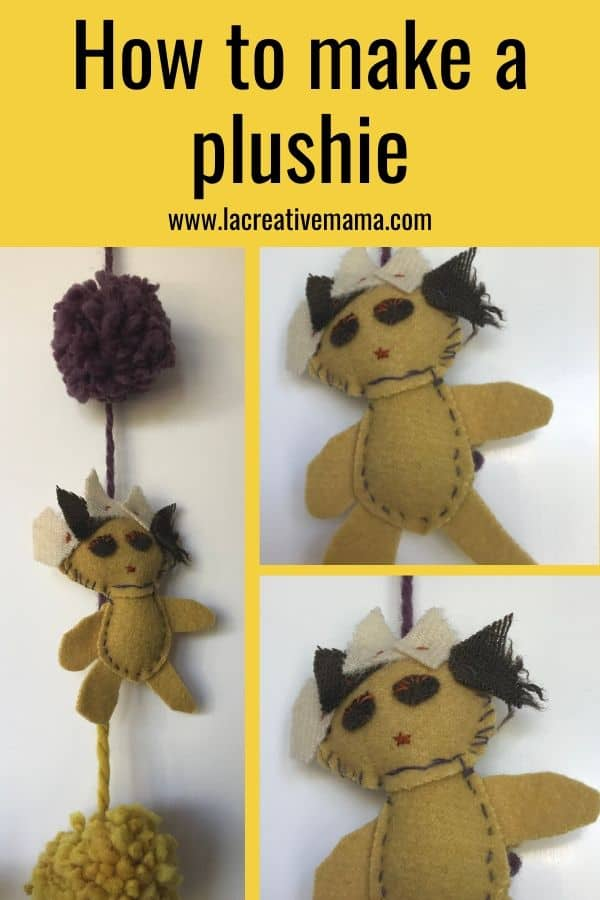 how to make a plushie by hand using free patterns