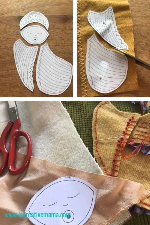 baby patterns. simple pattern. simple pattern tutorial. handamde baby shower gift idea tutorial