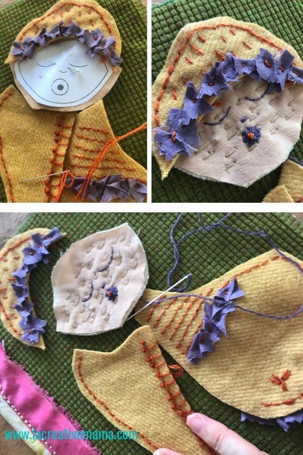 simple pattern. simple pattern tutorial. handamde baby shower gift idea tutorial