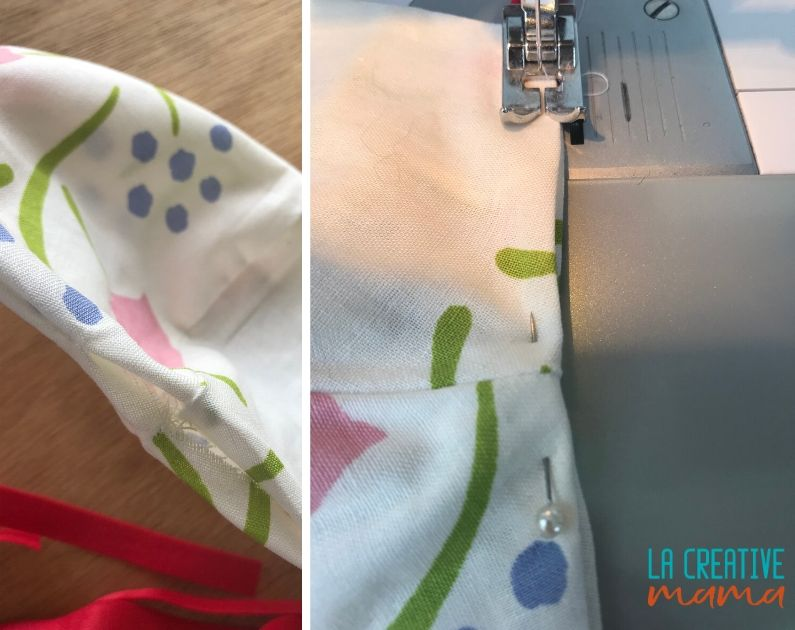 face mask sewing at home
