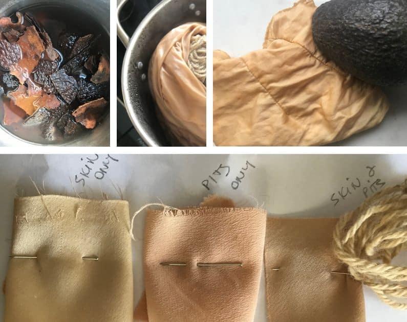 avocado skin dye