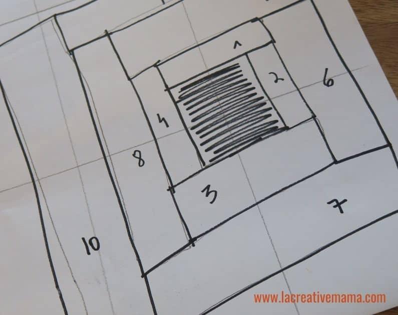 log cabin quilt pattern