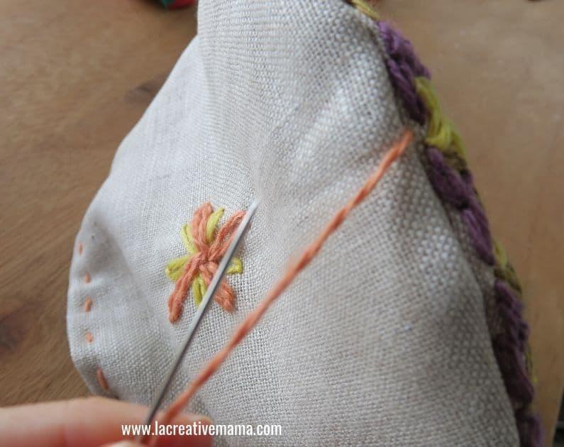 embroidery tea cozy tutorial