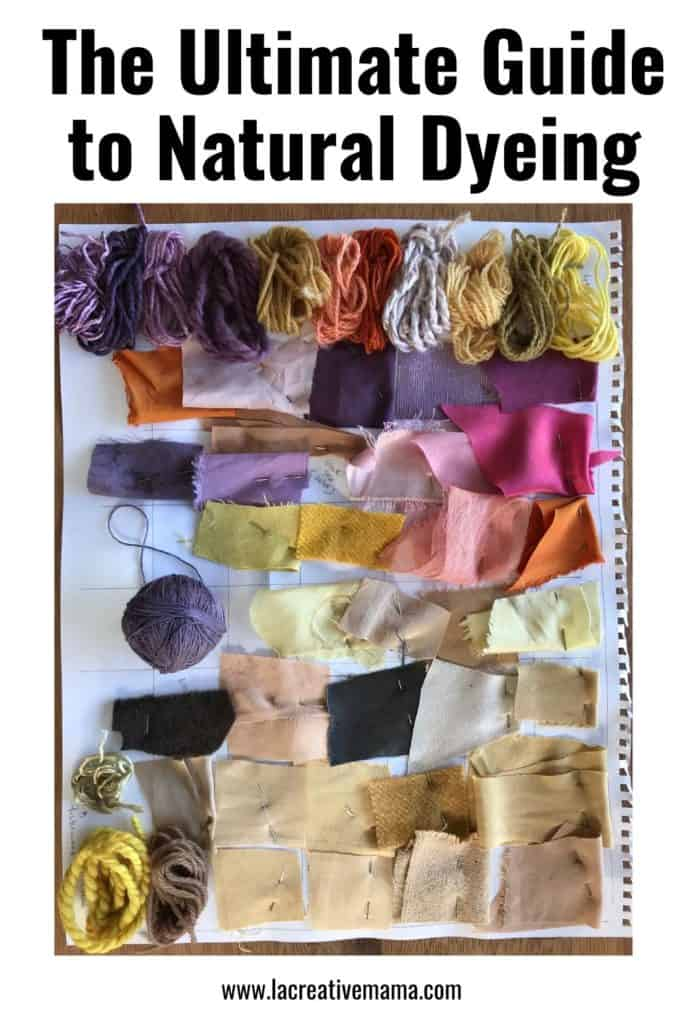 guide to natural dyeing