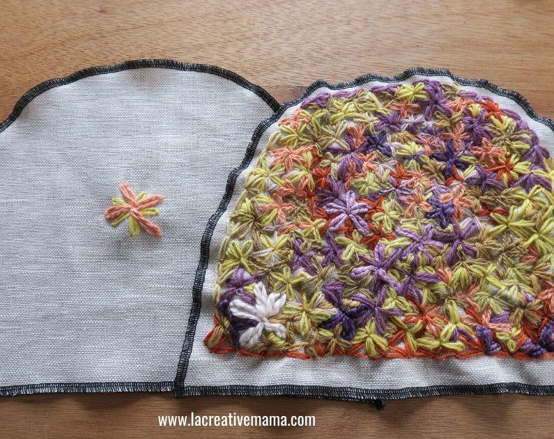 diy embroidered tea cozy tutorial