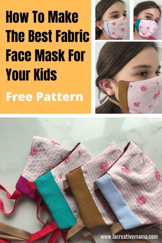 fabric face masks for kids