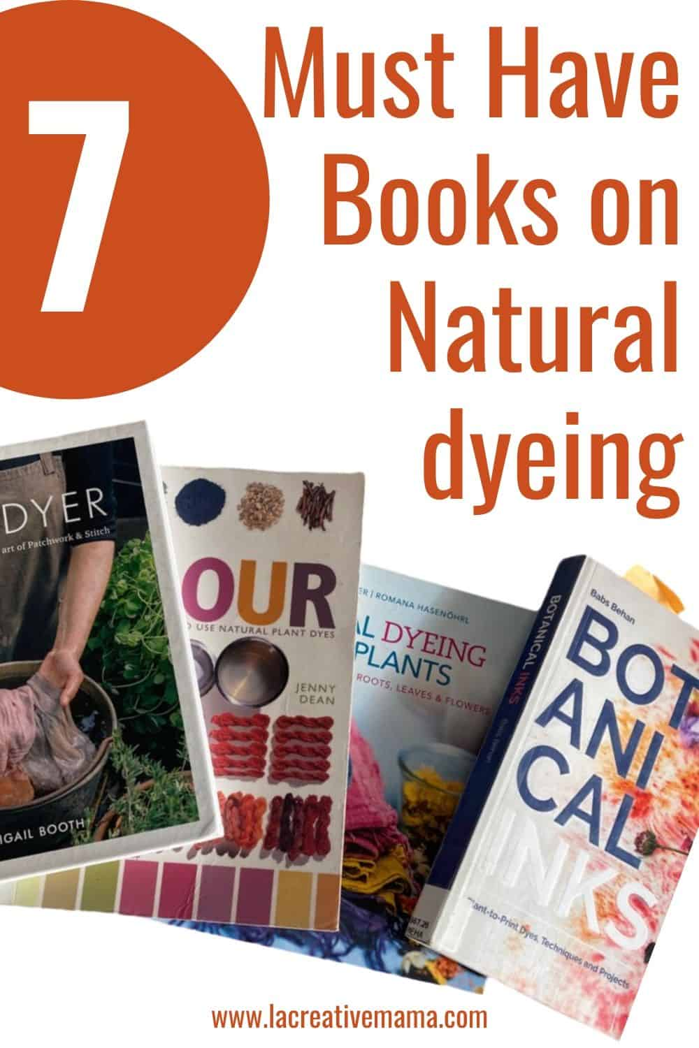 natural dyeing books