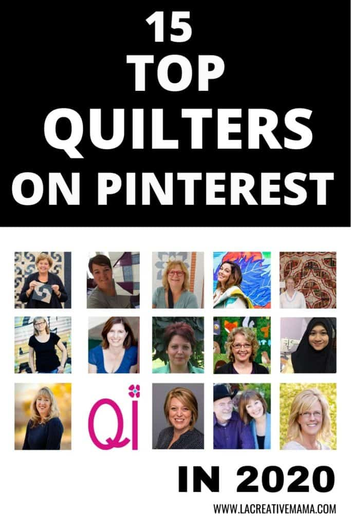 15 top quilters on pinterest