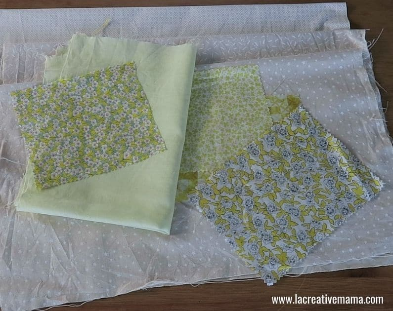 How to make a Fabric book 1