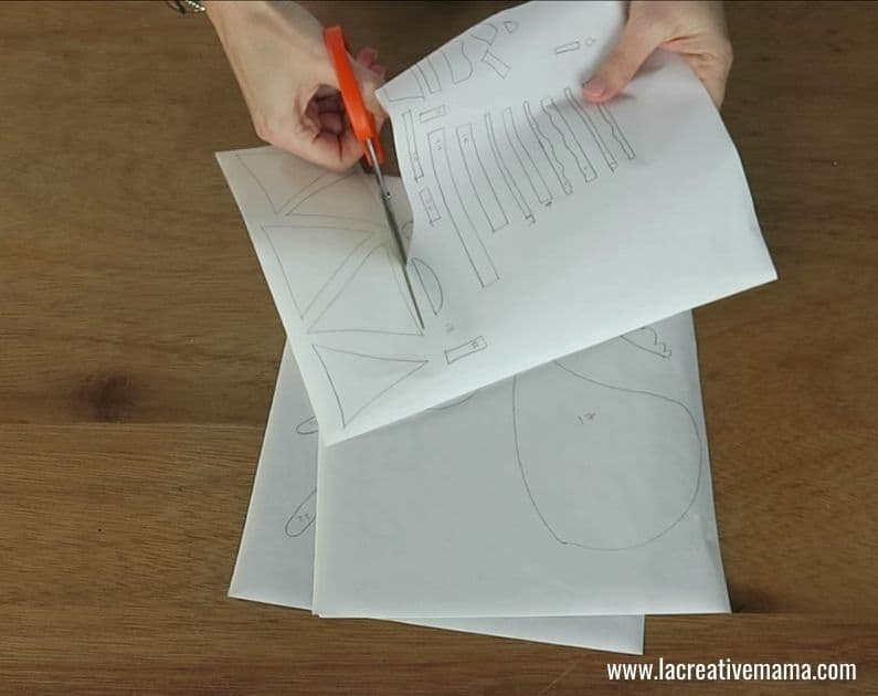 How to make a Fabric book 15