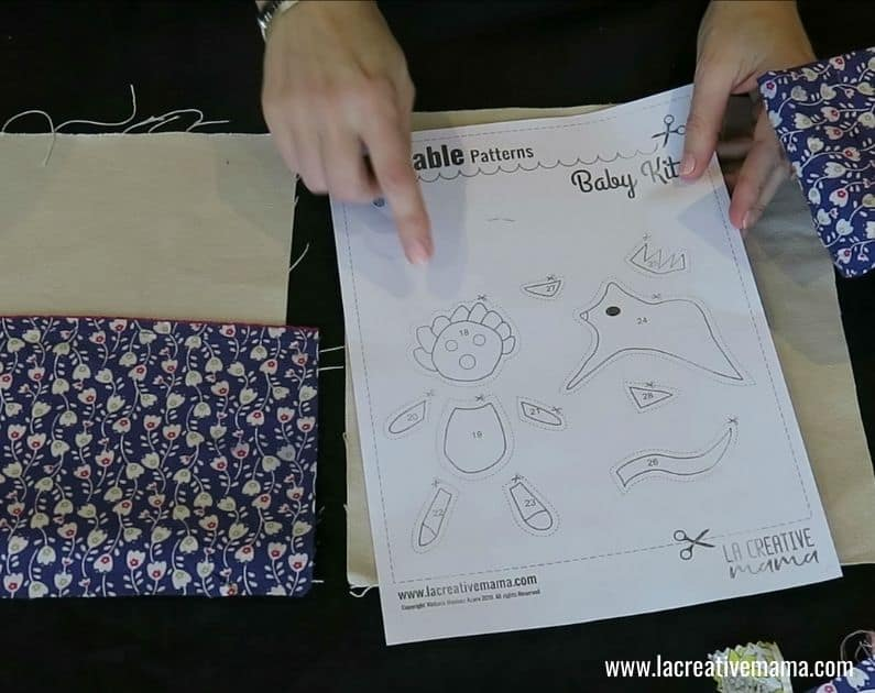 How to make a Fabric book 21