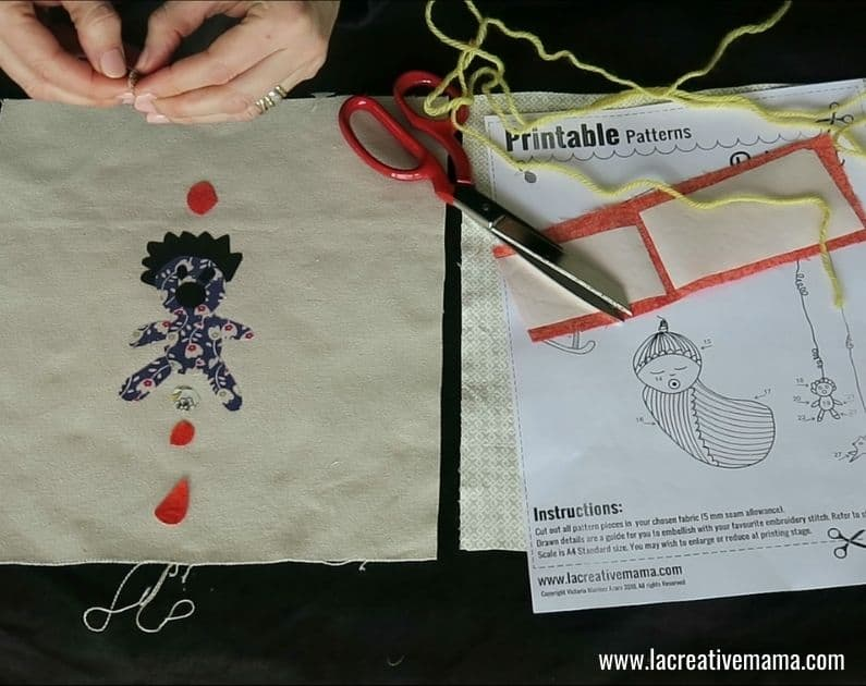 How to make a Fabric book 23