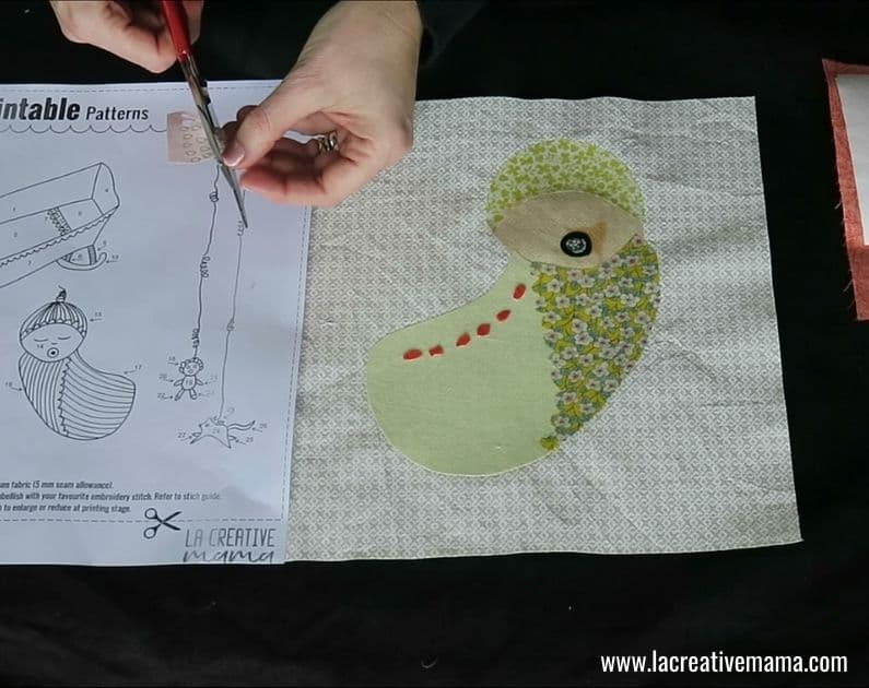 How to make a Fabric book 25