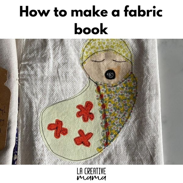 how to make a fabric book