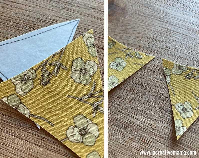 fabric book cover tutorial  13
