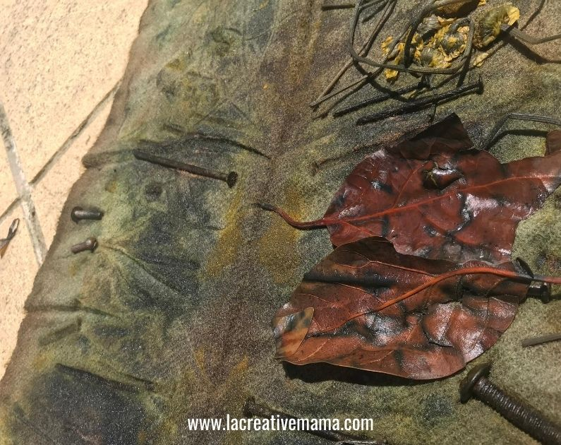 Bundle dyeing tutorial 12