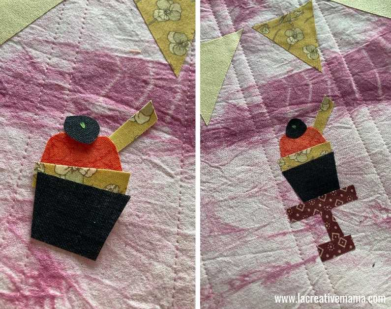 fabric book cover tutorial 18. using la creative mama free applique patterns