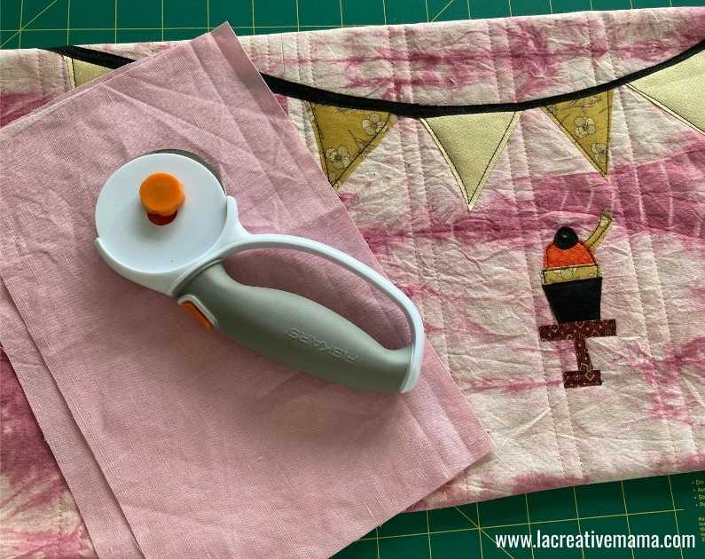 fabric book cover tutorial 29. Sewing the padded book cover and book sleeves