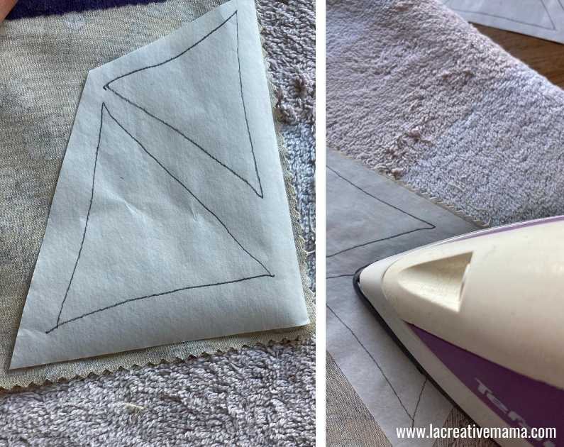 fabric book cover tutorial 9 using applique patterns