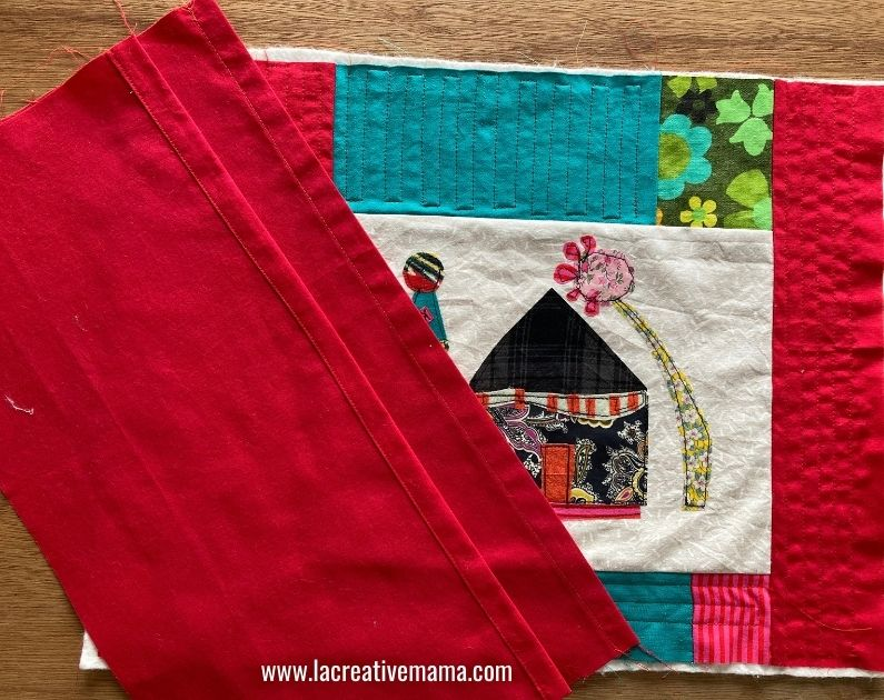 quilted pillow pattern tutorial 13