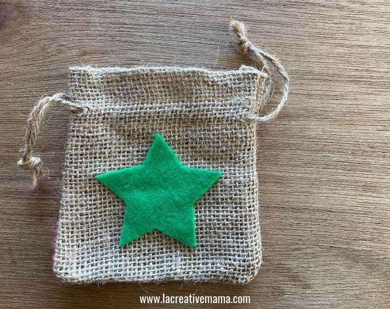 how to make Christmas wishing bags tutorial 2