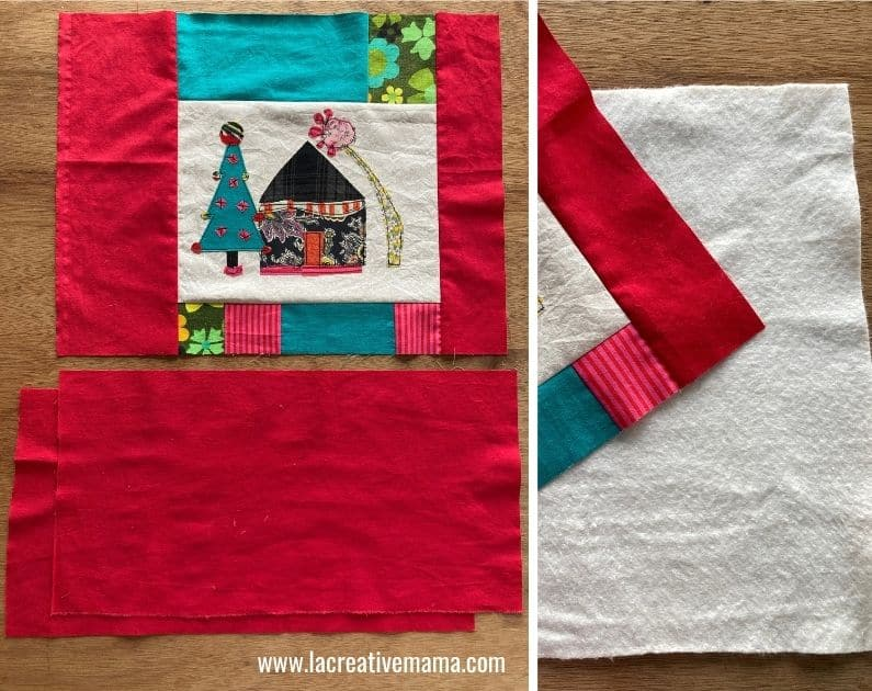 quilted pillow pattern tutorial 3