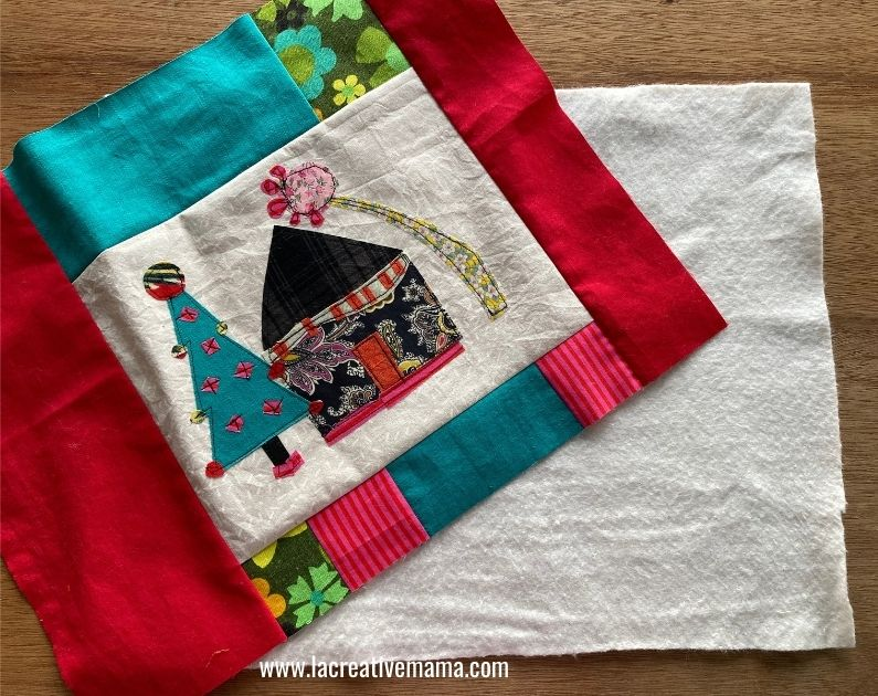 quilted pillow pattern tutorial 4