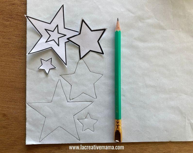 how to make Christmas wishing bags tutorial 1