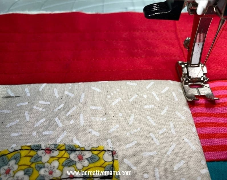 quilted pillow pattern tutorial 7