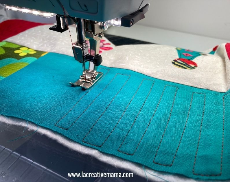 quilted pillow patter tutorial 8
