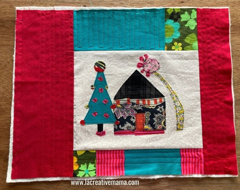 quilted pillow pattern tutorial 9