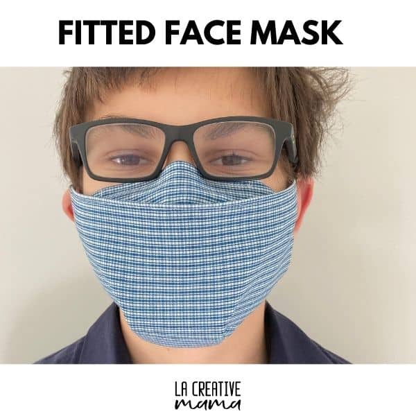 fitted face mask