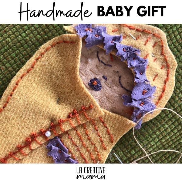 handmade baby gift applique patterns