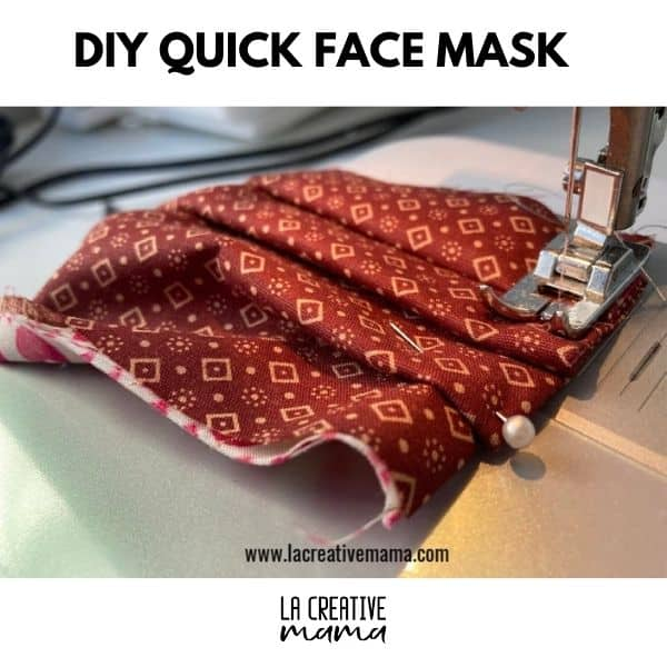how to make a face mask in ten minutes