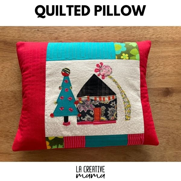 quilted pillow cover tutorial
