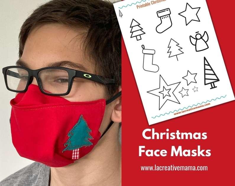 Christmas face mask
