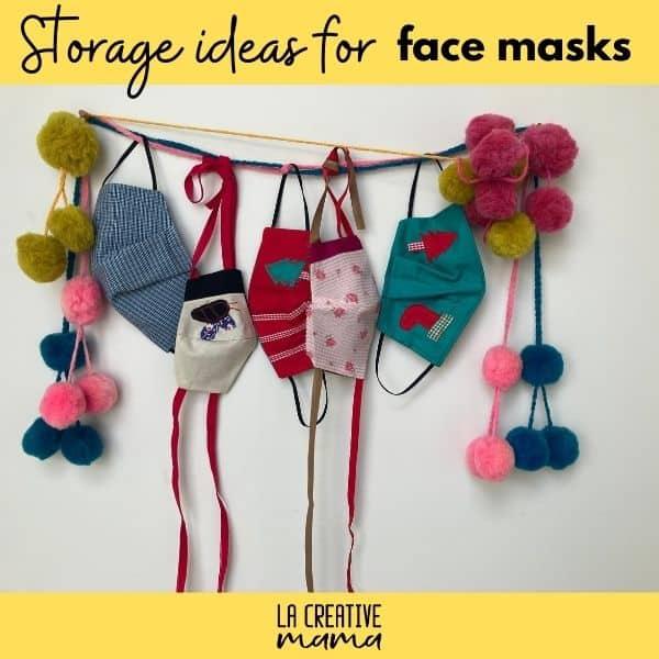 storage for face masks
