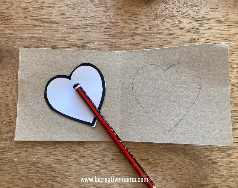 valentines card for kids tutorial materials and equipment