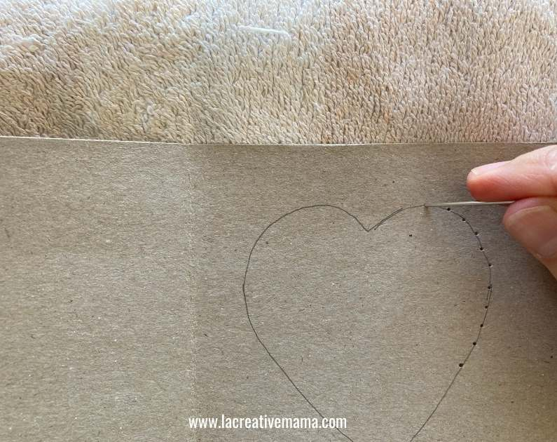 valentines card for kids tutorial 1