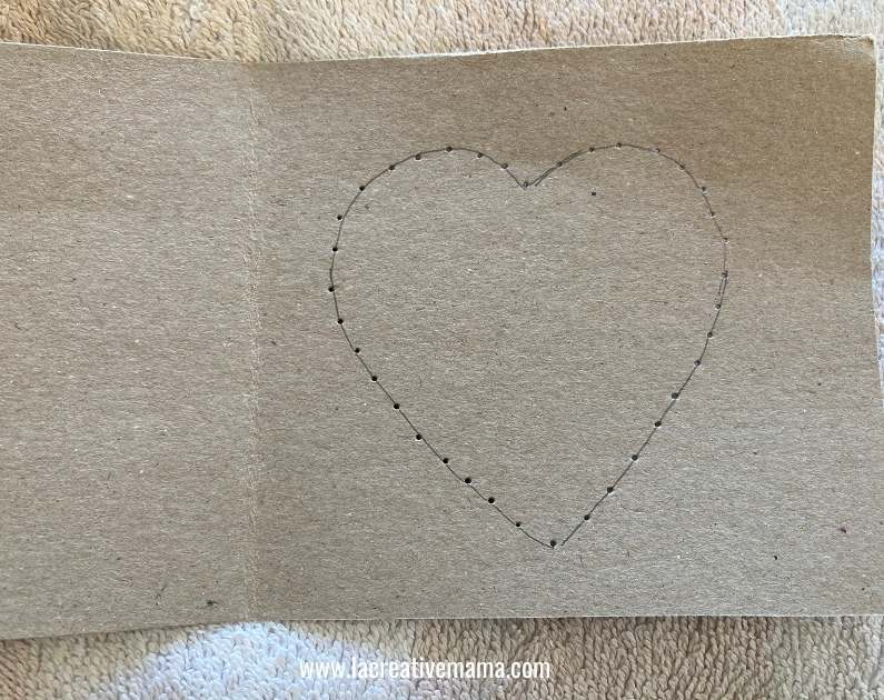 valentines card for kids tutorial 2