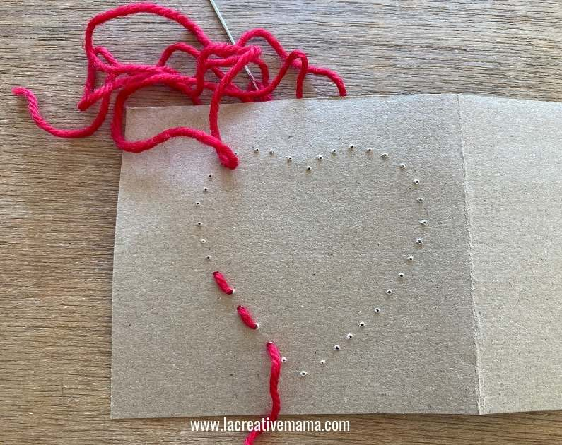 valentines card for kids tutorial 4
