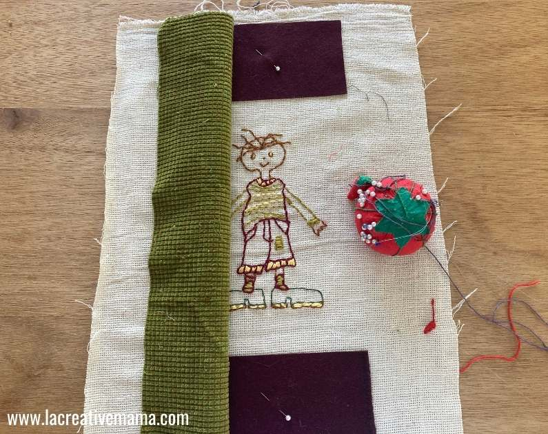 sewing the embroidered pillowcase tutorial 5