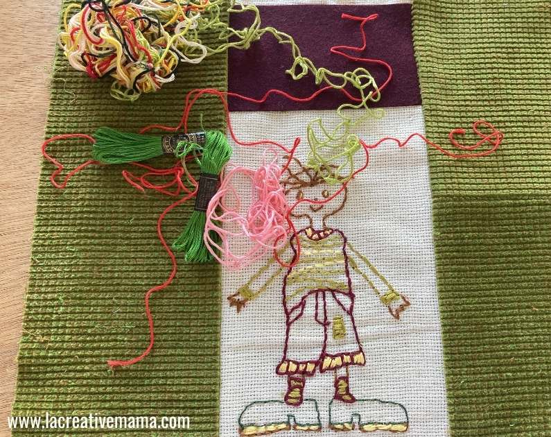 sewing the embroidered pillowcase tutorial 8