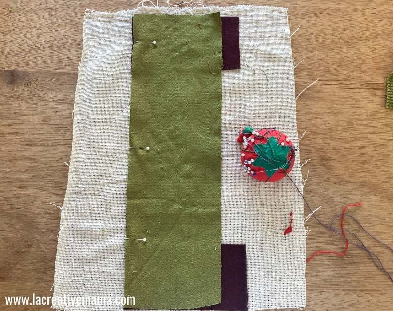 sewing the embroidered pillowcase tutorial 4