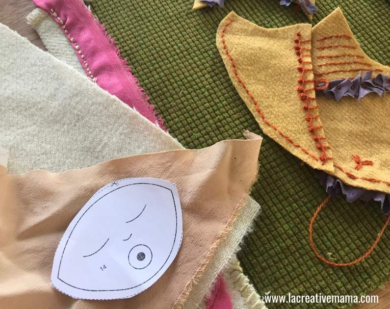 baby applique patterns. making a baby pillow tutorial 10